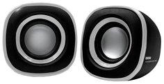 Компьютерная акустика BBK CA-301S (черно-серебристый)