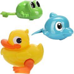 KEENWAY Заводные игрушки для ванны серия Wind-up Flippers