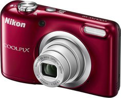 Цифровой фотоаппарат Nikon Coolpix A10 (красный)