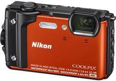 Цифровой фотоаппарат Nikon Coolpix W300 (оранжевый)