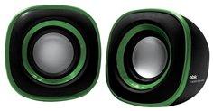 Компьютерная акустика BBK CA-301S (черно-зеленый)