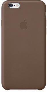Клип-кейс Apple для Apple iPhone 6/6S кожаный (коричневый)