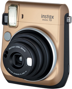 Фотоаппарат моментальной печати Fujifilm Instax Mini 70 (золотистый)