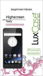 Защитная пленка Luxcase SP для Highscreen Tasty (глянцевая)