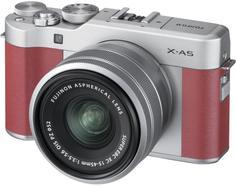 Цифровой фотоаппарат Fujifilm X-A5 Kit 15-45 (розовый)