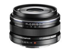Объектив Olympus M.Zuiko Digital 17mm 1:1.8 / EW-M1718 (черный)