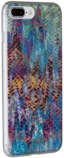 """Клип-кейс Deppa Art Animal Print для Apple iPhone 7 Plus/8 Plus рисунок """"Змея"""" (разноцветный)"""