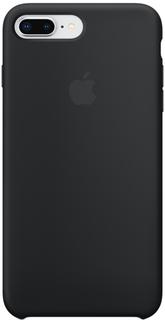 Клип-кейс Apple Silicone Case для iPhone 8 Plus/7 Plus (черный)