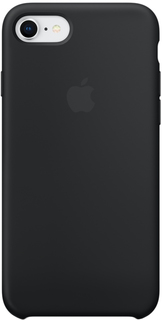 Клип-кейс Apple Silicone Case для iPhone 7/8 (черный)