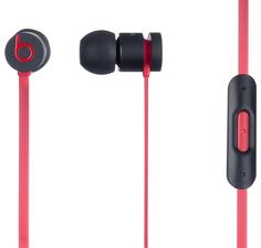 Наушники Beats urBeats (черно-красный)