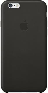 Клип-кейс Apple для iPhone 6 кожаный (черный)