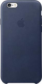 Клип-кейс Apple для iPhone 6/6S кожаный (темно-синий)