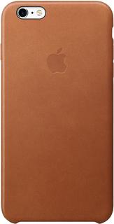 Клип-кейс Apple для iPhone 6 Plus/6S Plus кожаный (золотой с коричневым)