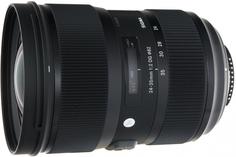 Объектив Sigma AF 24-35mm f/2.0 DG HSM Art Nikon (черный)
