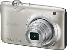 Цифровой фотоаппарат Nikon Coolpix A100 (серебристый)