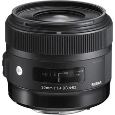 Объектив Sigma AF 30mm f/1.4 DC HSM Art для CANON
