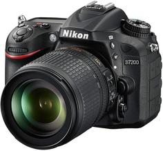 Зеркальный фотоаппарат Nikon D7200 Kit 18-105mm VR (черный)