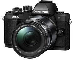 Фотоаппарат со сменной оптикой Olympus OM-D E-M10 Mark II Kit 14-150mm II (черный)