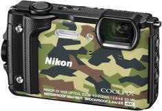 Цифровой фотоаппарат Nikon Coolpix W300 (камуфляж)