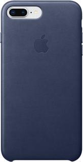 Клип-кейс Apple Leather Case для iPhone 7/8 Plus (темно-синий)
