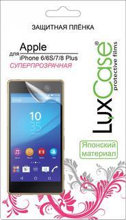 Защитная пленка Luxcase SP для Apple iPhone 6/6S/7/8 Plus (глянцевая)