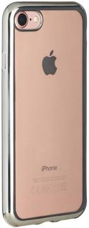 Клип-кейс Oxy Fashion MetallPlated для Apple iPhone 7 (серебристый)