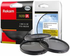 Rekam светофильтр CPL 72 мм + переходное кольцо 67-72 мм