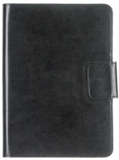 """Чехол-книжка Oxy Fashion Book для планшетов 8"""" (черный)"""