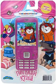 Развивающая игрушка Затейники Телефон Союзмультфильм - Попугай Кеша GT9068 (розовый)
