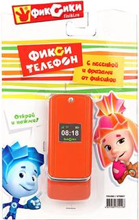 Развивающая игрушка Затейники Телефон Фиксики GT8667 (оранжевый)