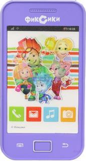 Развивающая игрушка Затейники Телефон Фиксики GT8665 (фиолетовый)