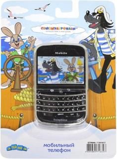 Развивающая игрушка Затейники Телефон Союзмультфильм - Ну, Погоди GT9066 (черный)