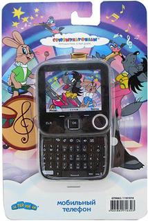 Развивающая игрушка Затейники Телефон Союзмультфильм - Ну, Погоди GT9065 (черный)