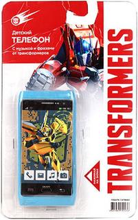 Развивающая игрушка Grand Toys Телефон Transformers GT8664 (голубой)