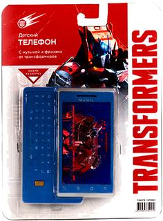 Развивающая игрушка Grand Toys Телефон Transformers GT8663 (синий)