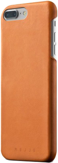 Клип-кейс Mujjo Leather Case для Apple iPhone 8 Plus/7 Plus (светло-коричневый)