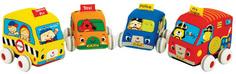 Игровой набор KS Kids Машинки мягкие с инерционным механизмом