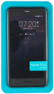 Чехол-книжка Huawei View Cover для Honor 8 Pro (черный)