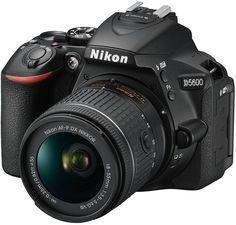 Зеркальный фотоаппарат Nikon D5600 kit 18-55 VR AF-P (черный)
