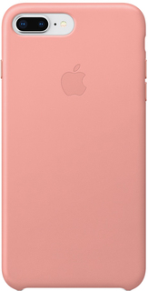 Клип-кейс Apple Leather Case для iPhone 8 Plus/7 Plus (бледно-розовый)