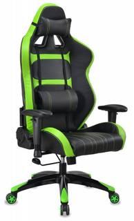 Игровое кресло Бюрократ CH-772 (черный, салатовый)