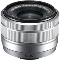 Объектив Fujifilm XC 15-45mm F3.5-5.6 OIS PZ (серебристый)