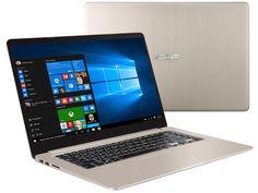 Ноутбук ASUS VivoBook S15 S510UN (Intel Core i5 7200U 2500 MHz/15.6/1920x1080/8Gb/1128Gb HDD+SSD/DVD нет/NVIDIA GeForce MX150/Wi-Fi/Bluetooth/Windows 10 Home)