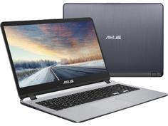 Ноутбук ASUS X507UB-EJ043 90NB0HN1-M00780 (Intel Core i3-6006U 2.0 GHz/4096Mb/1000Gb/No ODD/nVidia GeForce MX110 2048Mb/Wi-Fi/Bluetooth/Cam/15.6/1920x1080/Endless)
