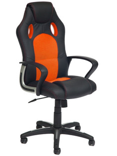 Компьютерное кресло TetChair Racer New Black-Orange 36-6/07