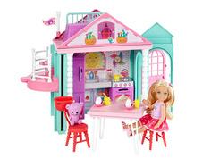 Кукольный домик Barbie Домик Челси, 14 см, DWJ50 Mattel