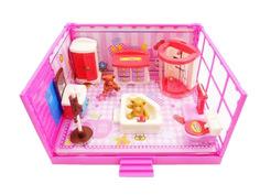 Кукольный домик ABtoys Счастливые друзья Ванная комната PT-00910