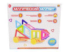 Конструктор ABtoys Магический магнит 40 дет. PT-00752