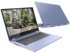 Ноутбук Lenovo Yoga 530-14IKB Blue 81EK0099RU (Intel Core i7-8550U 1.8 GHz/8192Mb/256Gb SSD/Intel HD Graphics/Wi-Fi/Bluetooth/Cam/14.0/1920x1080/Touchscreen/Windows 10 Home 64-bit)