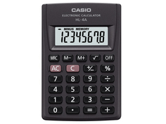 Калькулятор Casio HL-4A Black